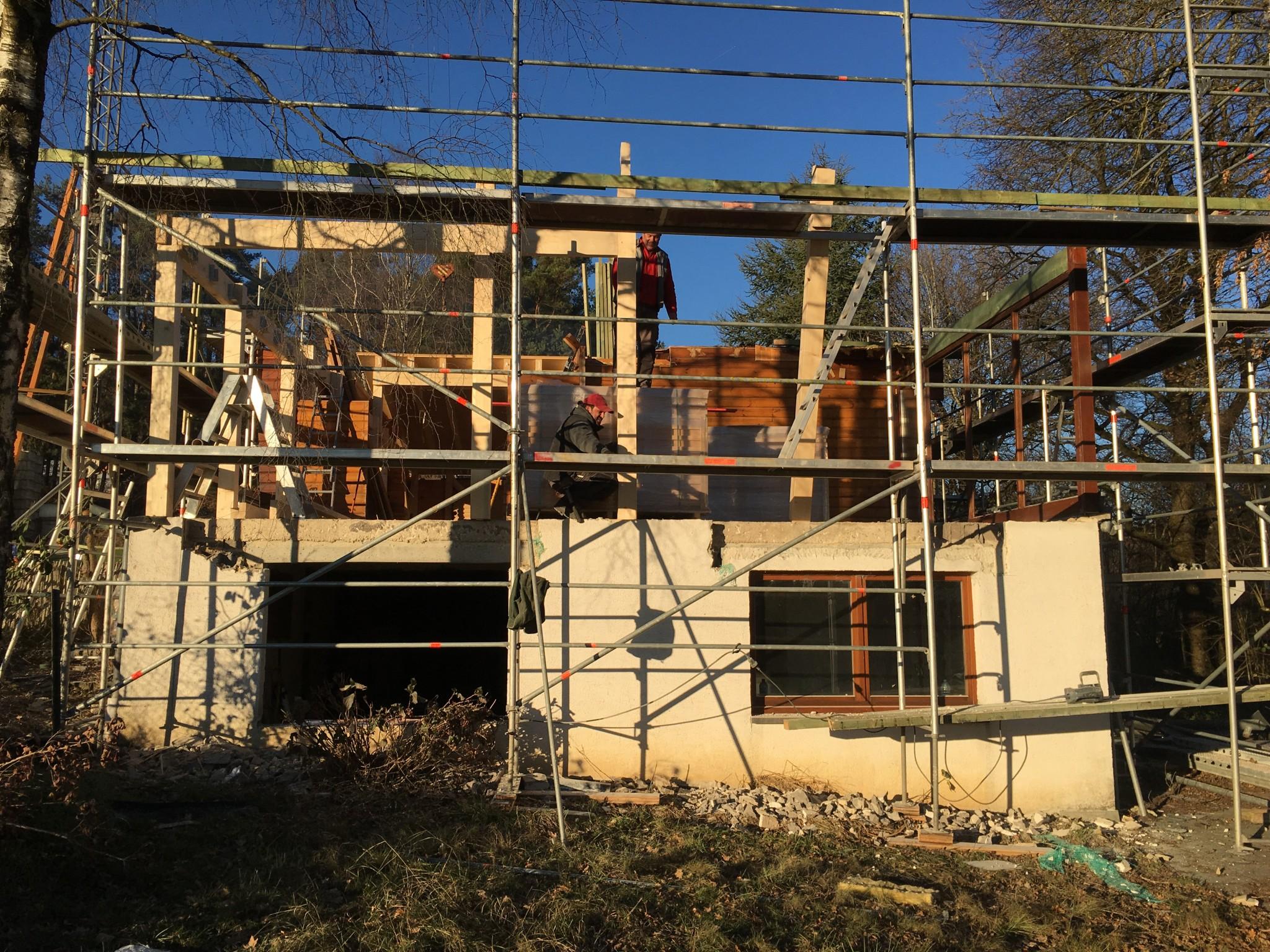 Thierry Noben Architecte chantier Will